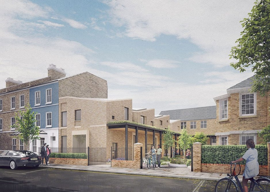 The Clement James Centre project expands the site and buildings for a growing educational charity, just around the corner from Grenfell Tower. The new learning centre tries to blend with the domestic architecture around it.