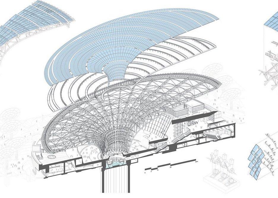 Expo 2020 Sustainability Pavilion, Dubai, United Arab Estates.