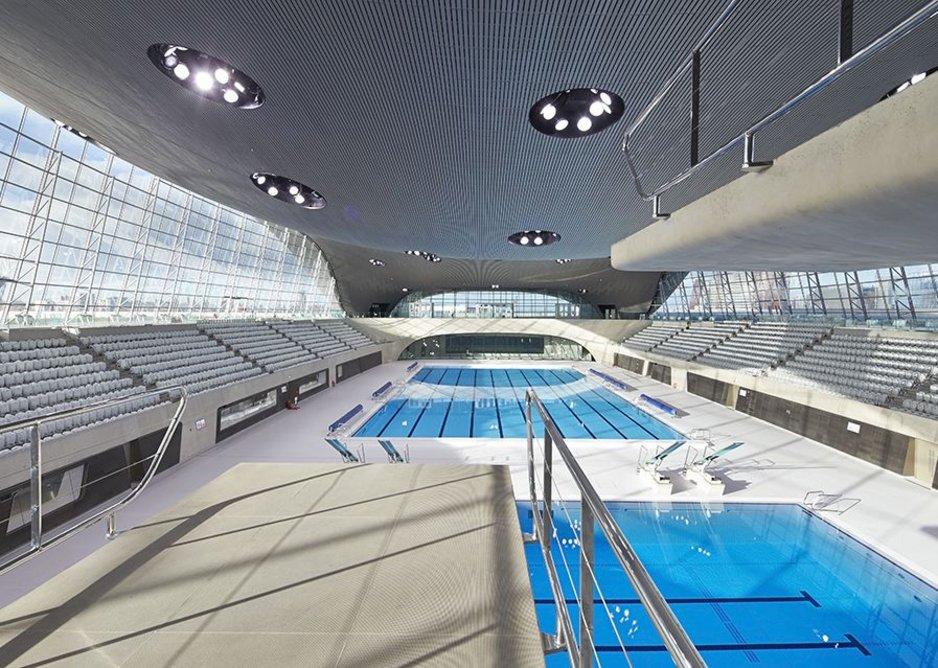 London Aquatics Centre.