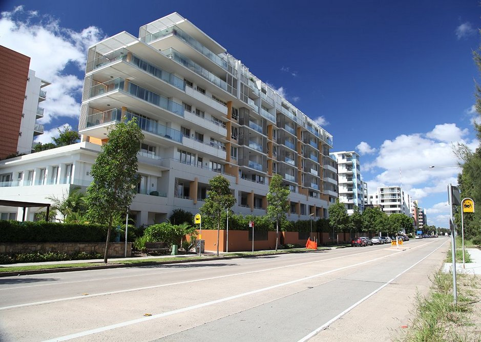 Post-Olympic apartments on Sydney Olympic Park.