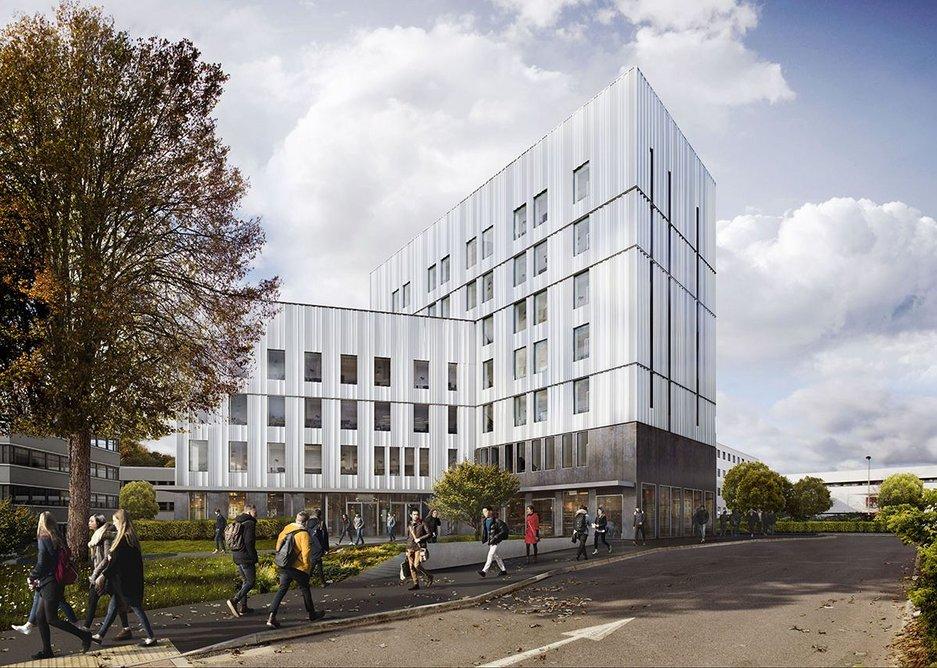 Southampton University by FCBStudios.