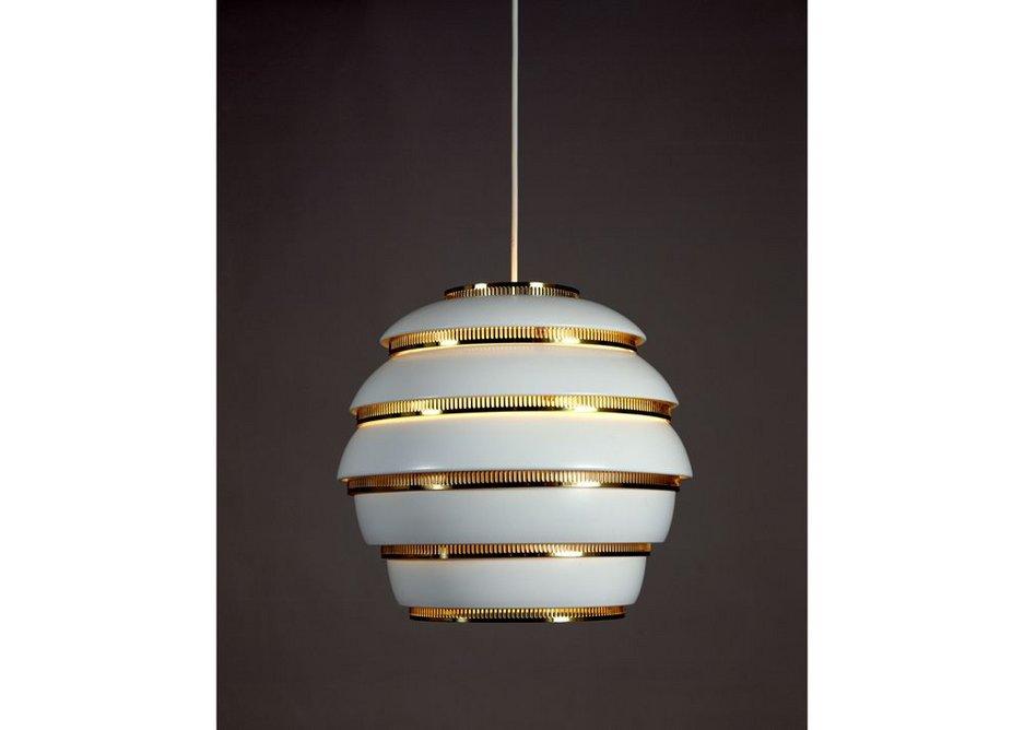 Alvar Aalto Beehive lamp. (c) Maija Holma Alvar Aalto Museum.
