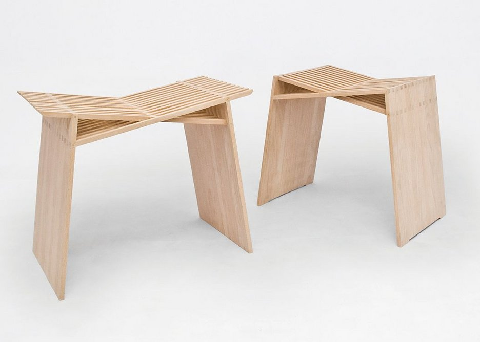 Throne Stool and Pew Stool