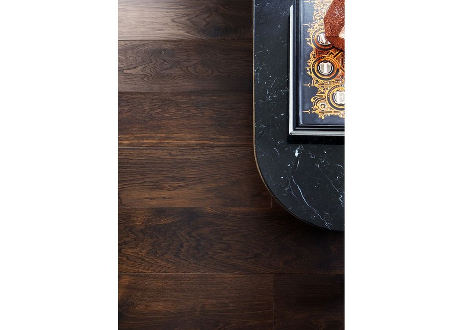 Textured Solid Black Oak