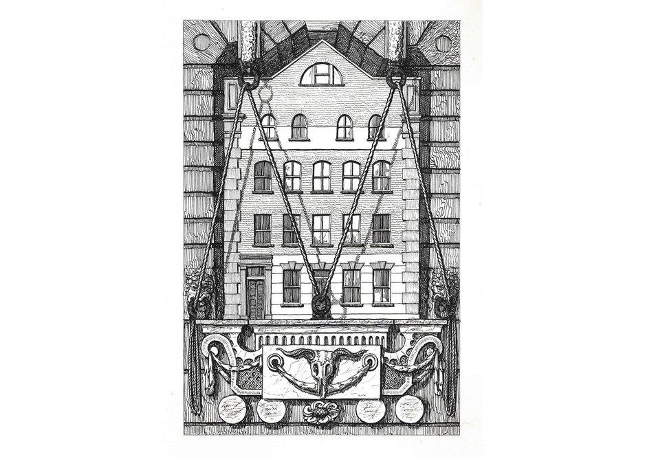 1 Haverstock Street, Haverstock Place, Islington, N1 8BX. Courtesy Herald St, London and Galeria Franco Noero, Turin.