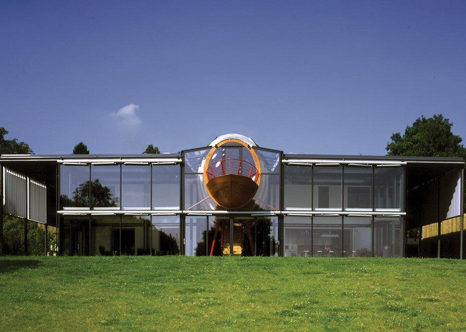 2000: Spine House, Oberkulheim, Germany.