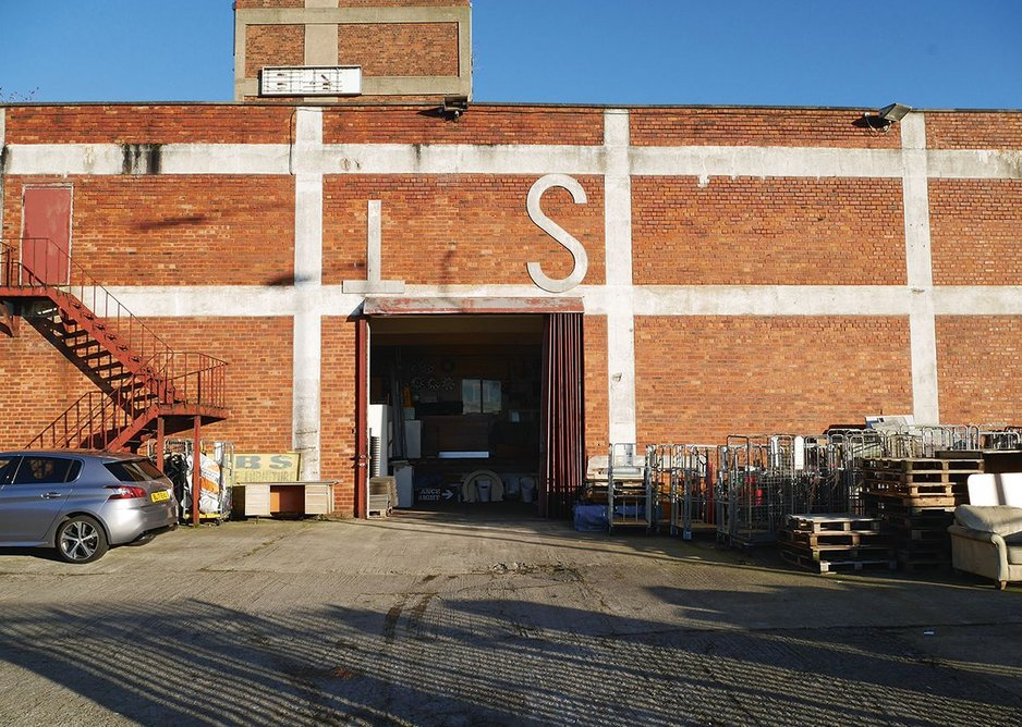 Industry continues in a post-war Ten Streets warehouse.