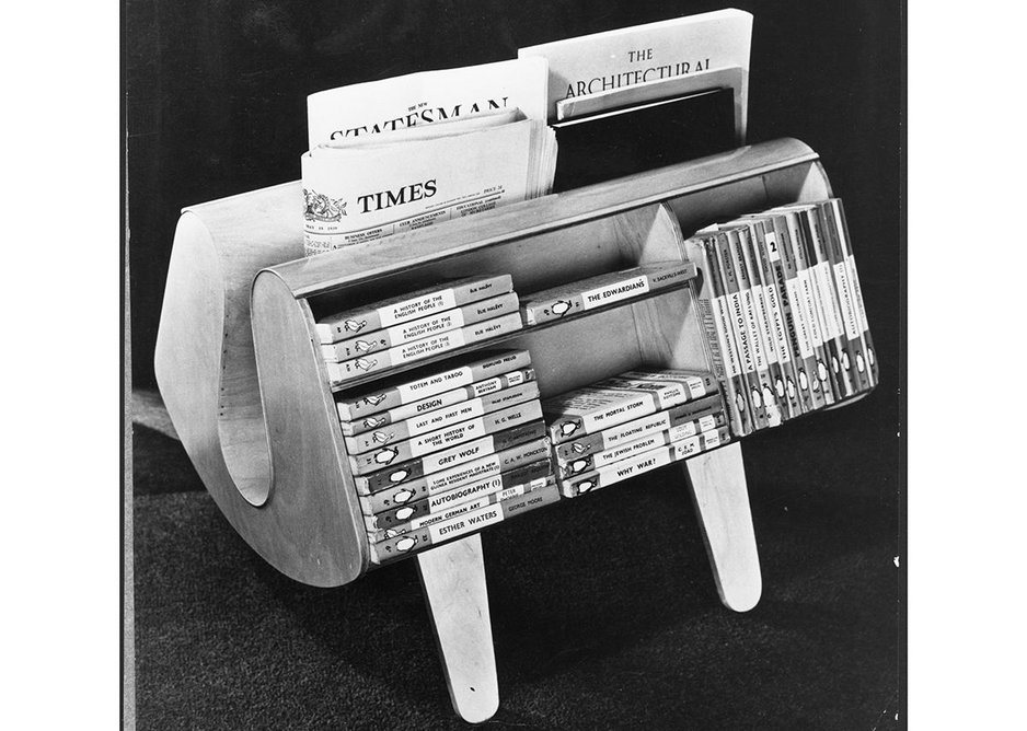 Isokon Penguin Donkey designed by Egon Ross, 1939. Image courtesy of Isokon Plus Archive and Pritchard Papers, University of East Anglia.  From the Insiders/Outsiders book published by Lund Humphries.