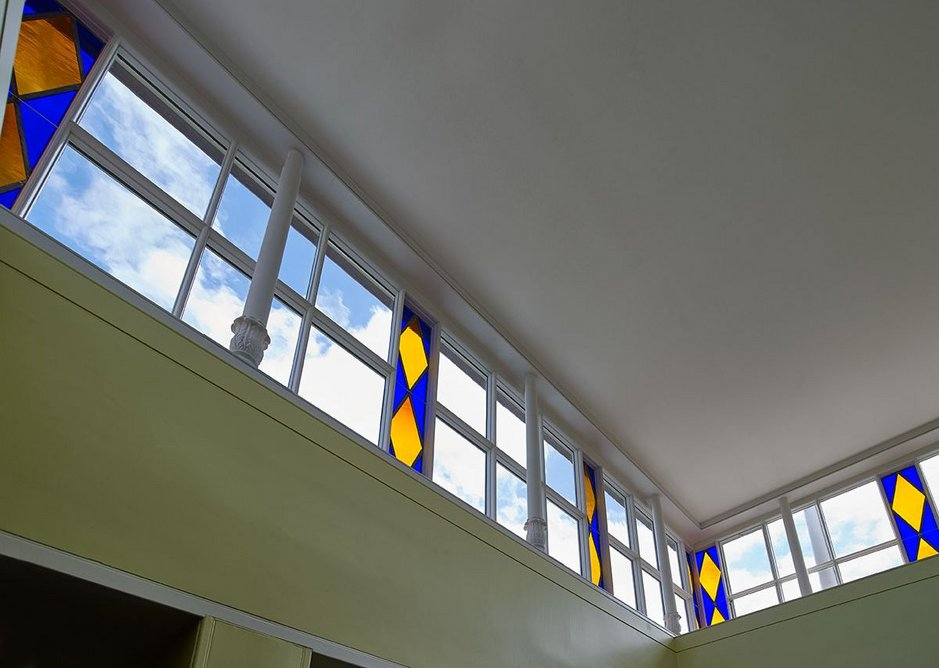 Attic, Pitzhanger Manor, Ealing, London (2019) designed by John Soane and reworked by Jestico + Whiles and Julian Harrap Architects.