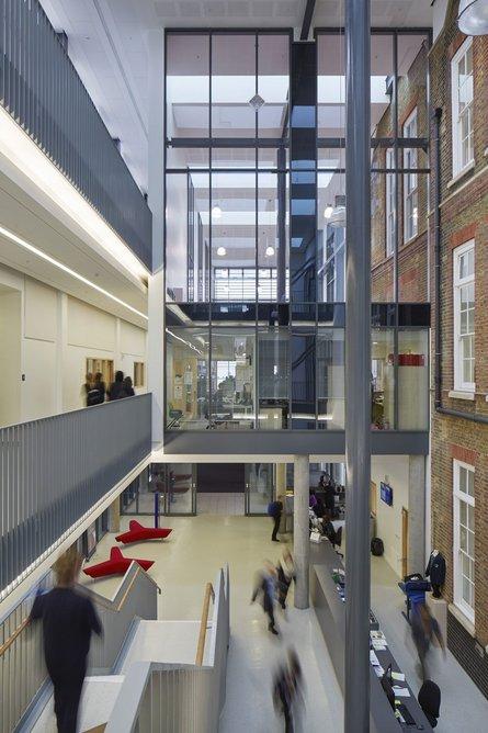 Regent High School, London, designed by Walters & Cohen, 2015.