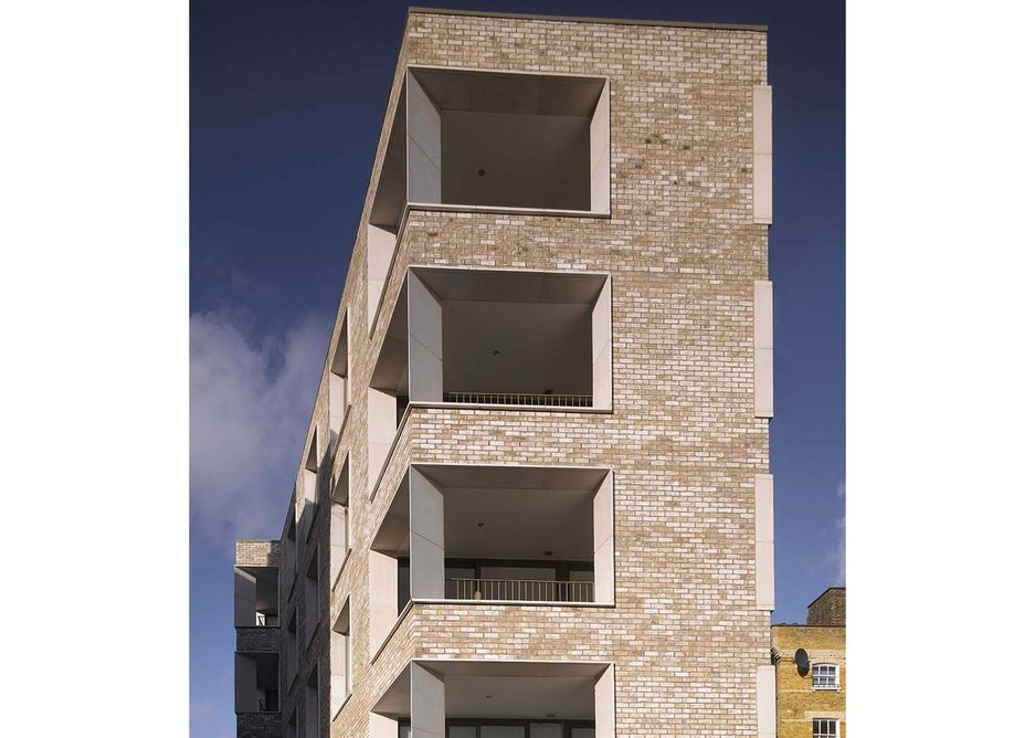 Darbishire Place by Niall McLaughlin Architects.