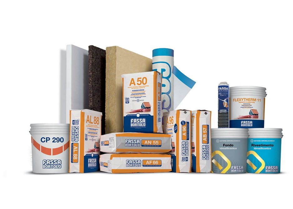 The range of Fassatherm products.