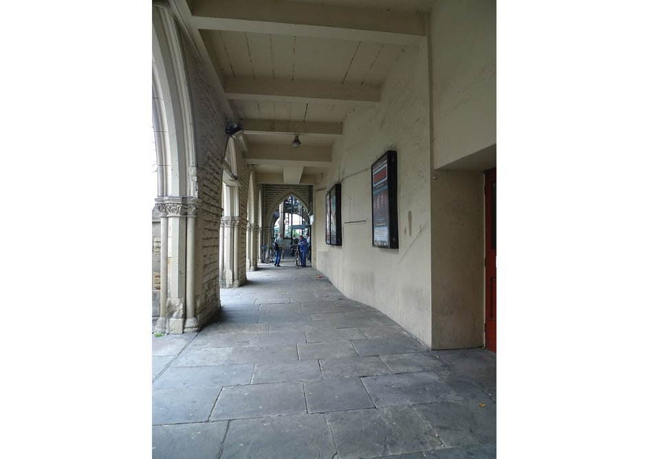 Before the refurbishment the Victorian front colonnade was being used as York's biggest bus shelter.