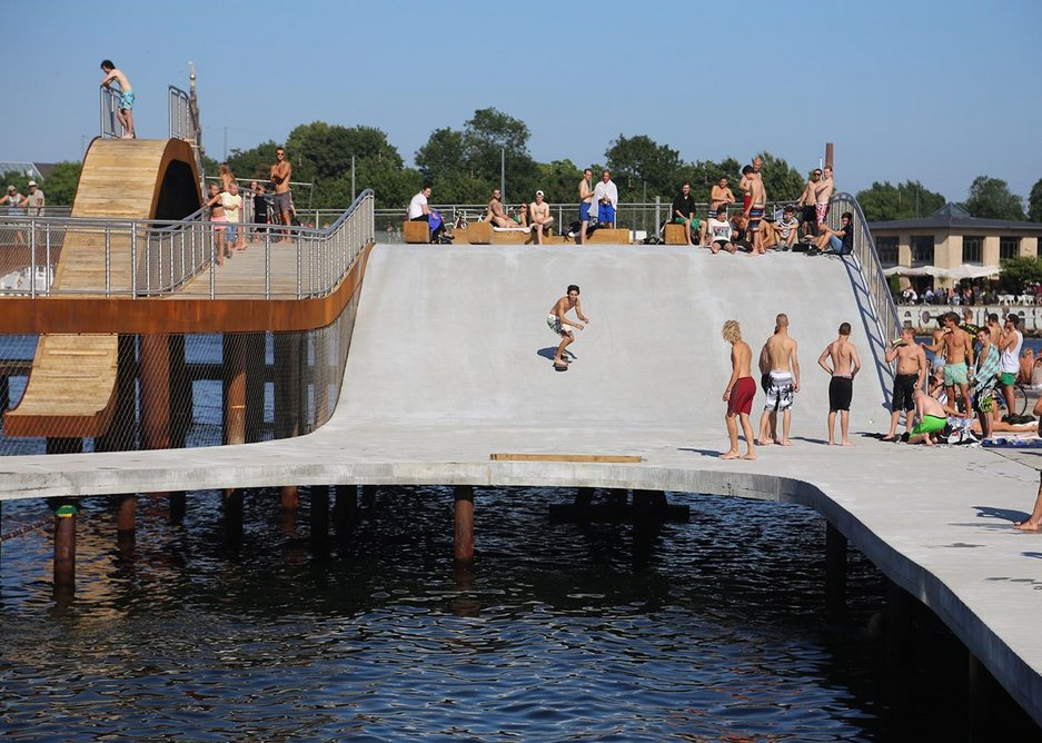 Ramping it up in Copenhagen at Kalvebod Waves with JDS Architects.