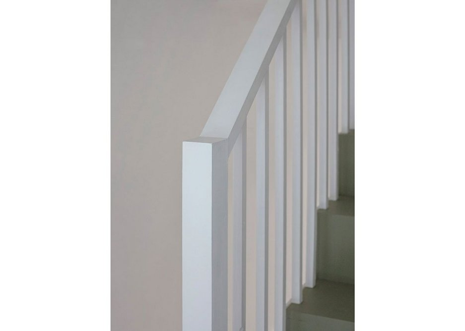 The client supplied many of the materials, finishes and fittings for House for a Stationer directly to minimise costs.