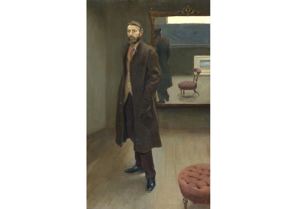 Edward Carpenter by Roger Fry