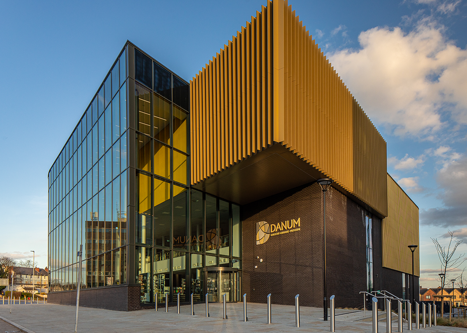 Danum Gallery, Library and Museum: A bright, welcoming space for the local community to explore Doncaster's heritage.