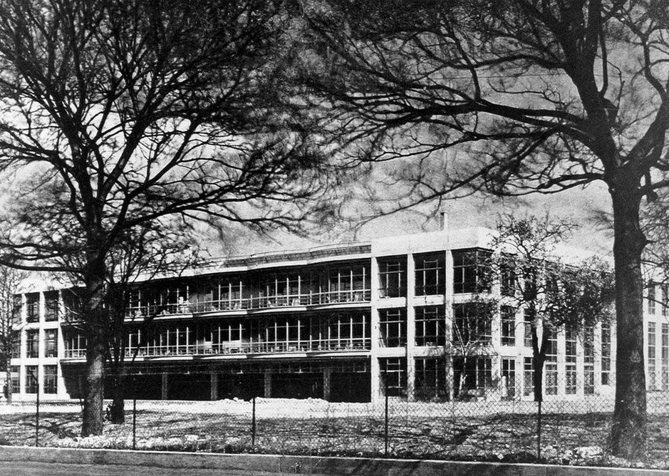 Designed by Sir Owen Williams, the Pioneer Health Centre in Peckham was completed in 1935.