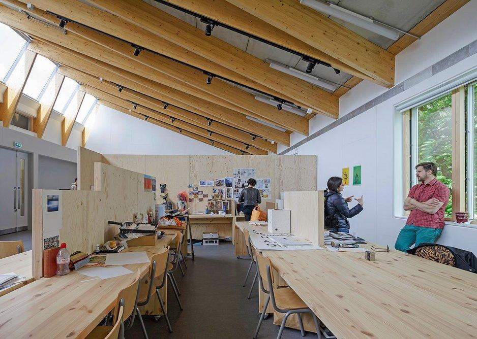 New Studios, Wimbledon College of Arts London by Penoyre and Prasad