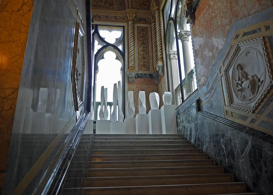 Zaha Hadid is a forceful presence as her retrospective fills the Palazzo Franchetti.