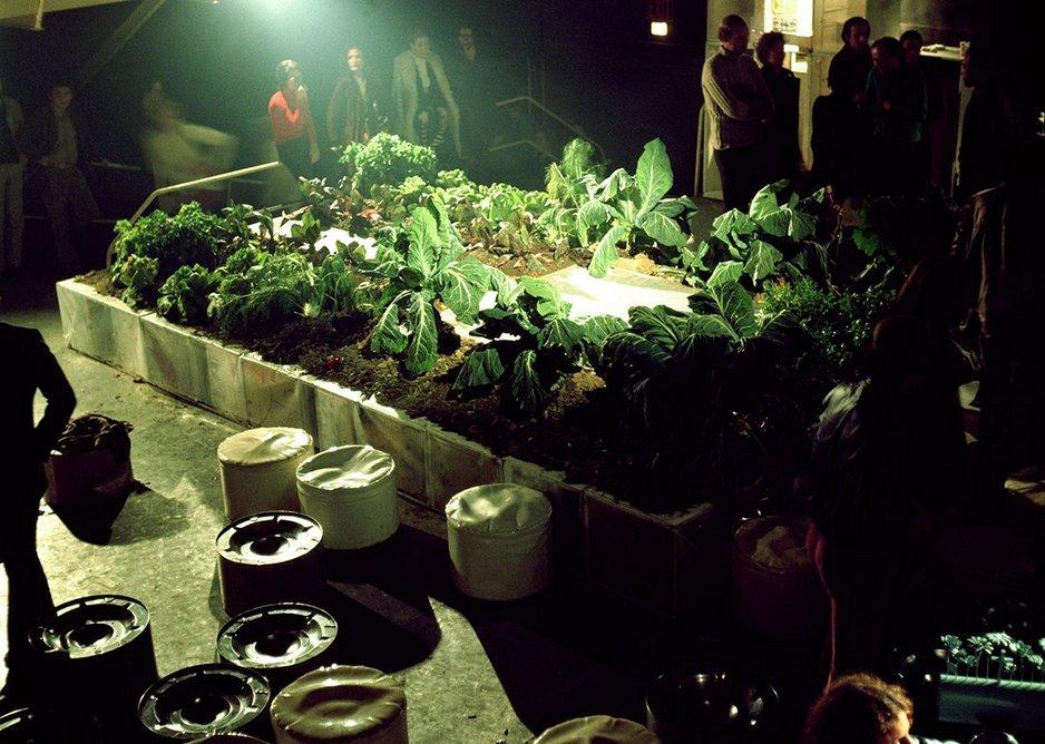 Gruppo 9999, prototype for the Vegetable Garden House at the Mondial Festival, Space Electronic, Florence, 1971. Gruppo 9999, courtesy of Carlo Caldini.