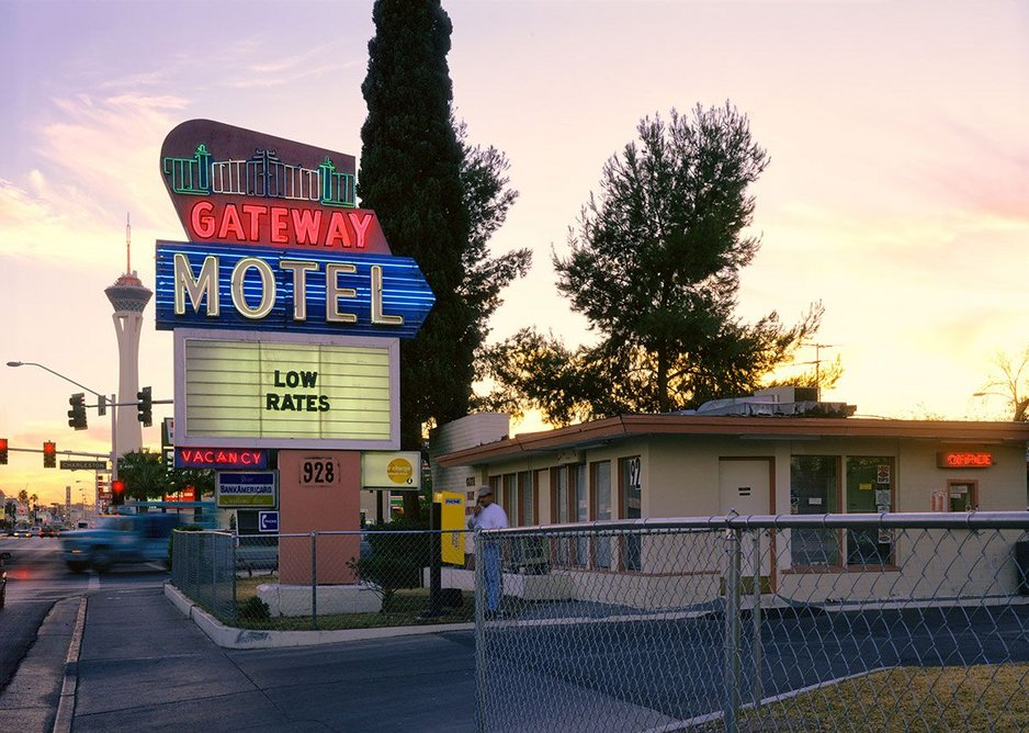 The Gateway Motel by Fred Sigman (1995), from the new book Motel Vegas