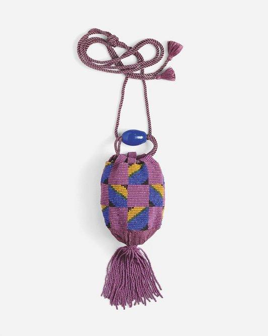 Perlbeutal bag by Sophie Taeuber-Arp, c 1917. Museum fur Gestaltung , Zürcher Hochschule der Künste, Zurich. Decorative Arts Collection
