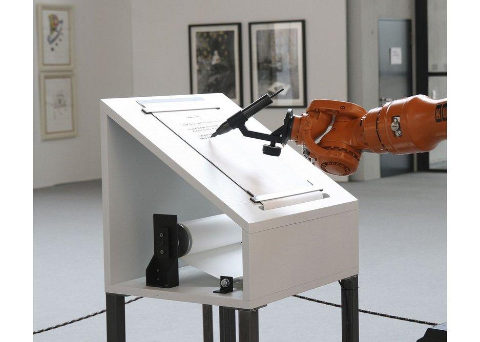 Manifest by Robotlab (ZKM), 2008.