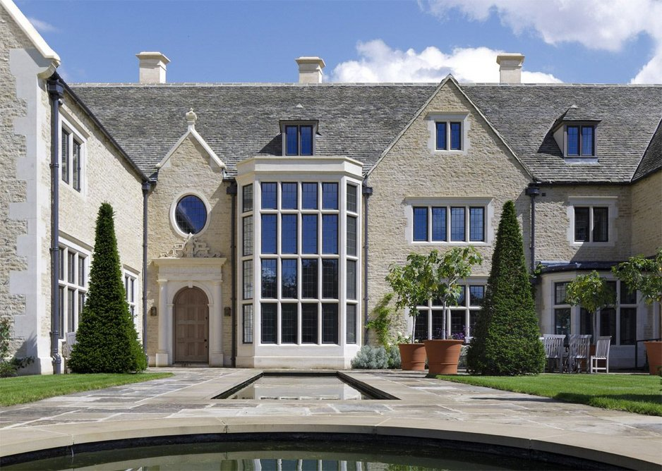 In with the new: Bespoke bronze windows by Architectural Bronze Casements at a new-build property in west Oxfordshire. Yiangou Architects.