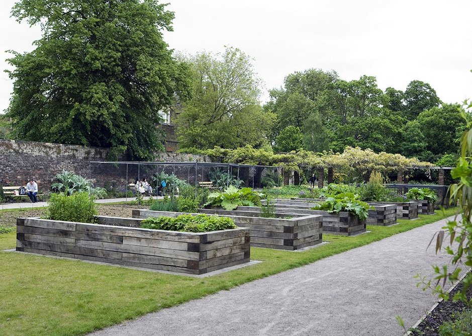 A Kitchen Garden Steering Group plans the use of the kitchen garden.