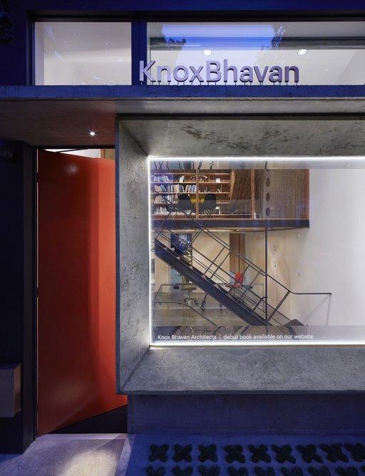 Knox Bhavan Architects' new studio, London, 2017.