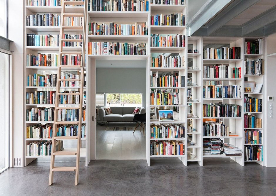 Old Shed New House: 'The library is so beautiful that it really does elicit an envious gasp.'