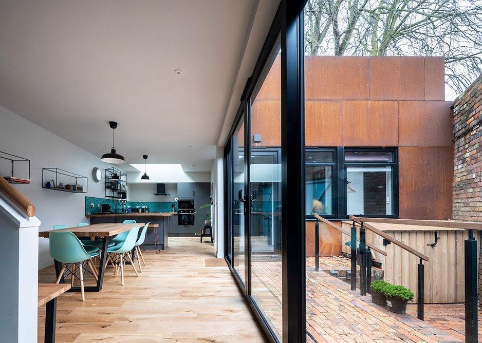 Corten Courtyard House.