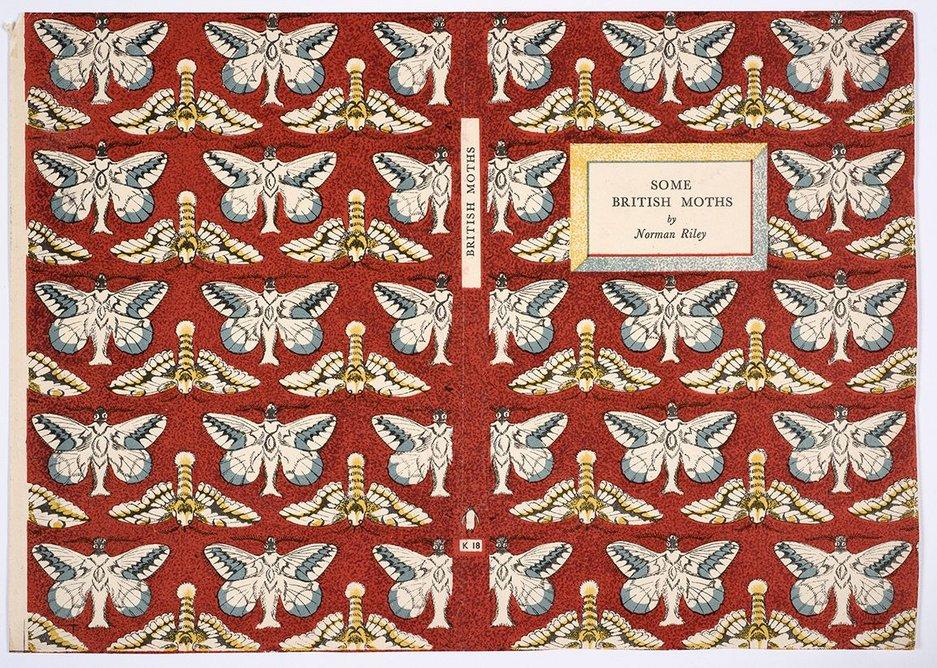 Cover for Some British Moths, King Penguin.