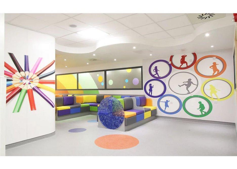 Trovex in a children's emergency department.