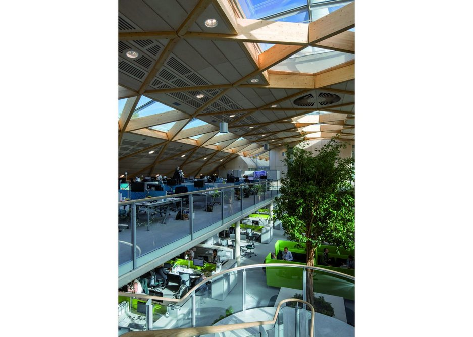 Living Planet Centre WWF-Headquarters by Hopkins Architects.