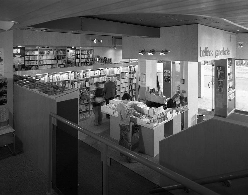 Heffers bookshop, Cambridge, designed by Austin-Smith:Lord