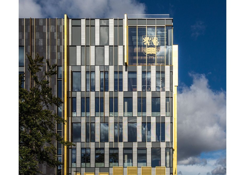 Associated Architects' new library building for the University of Birmingham.