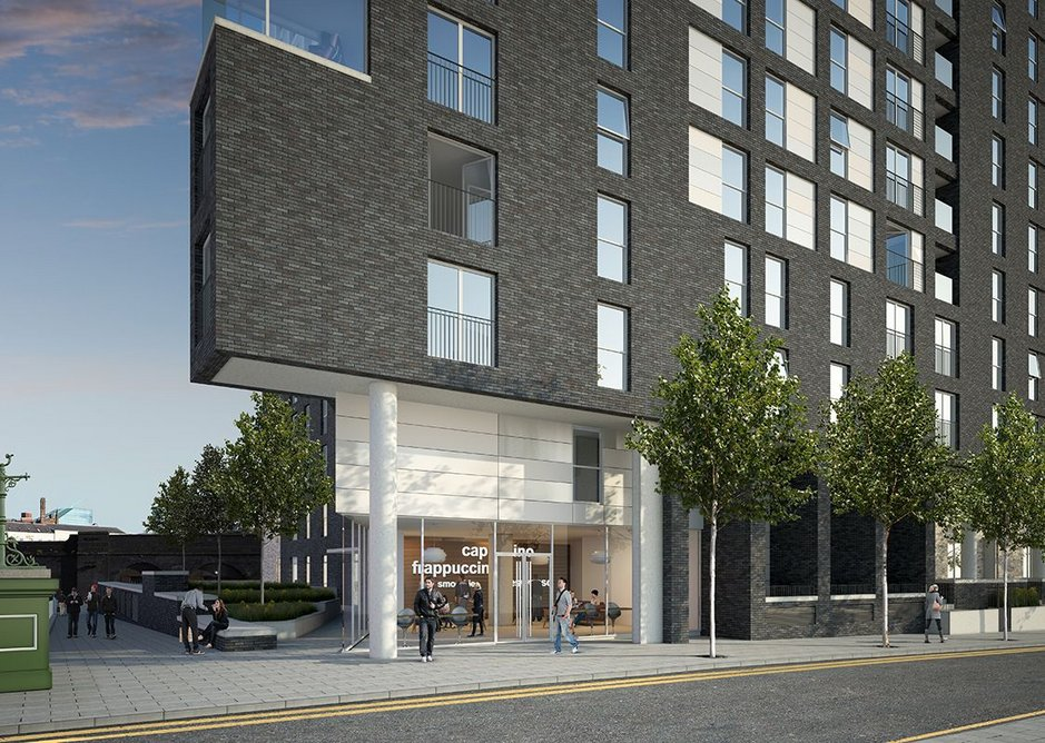 Mixed use also helping mixing and meeting to build a loyalty to the community and brand at Greengate, designed by OMI