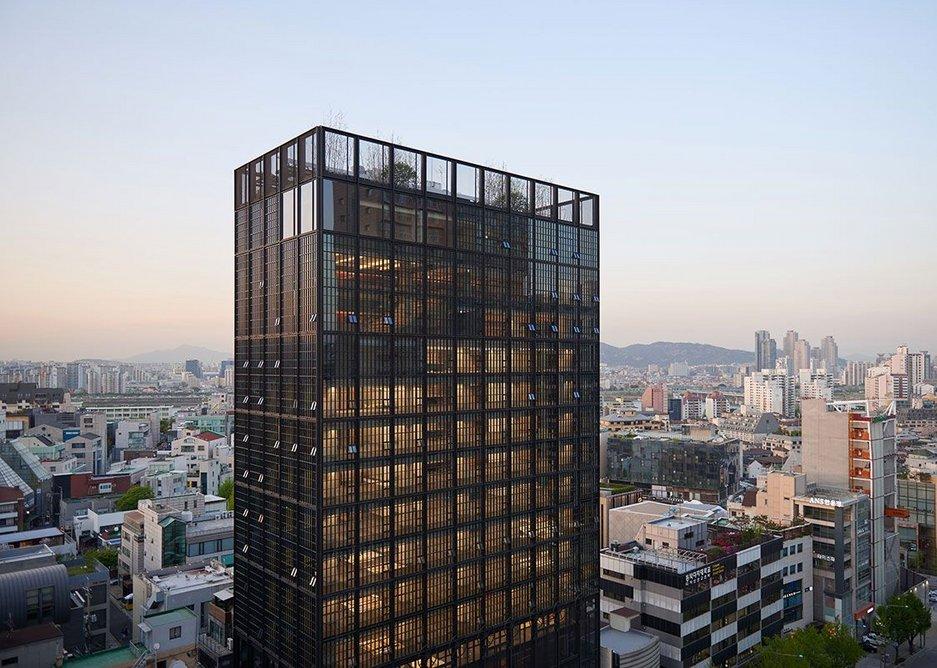 Shinsegae International HQ, Seoul, South Korea.