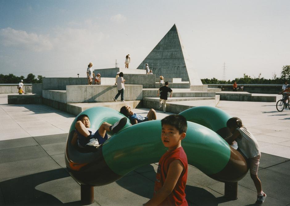 Isamu Noguchi (design) with Shoji Sadao (architect), Play Equipment at Moerenuma Koen, 1988-2004, Sapporo, Japan ©INFGM / ARS - DACS