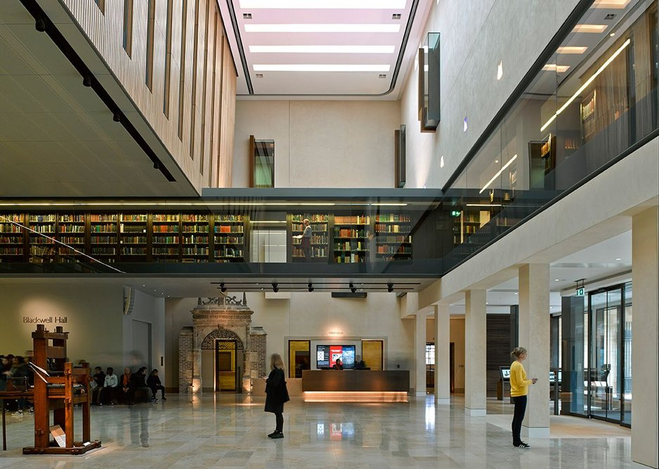 Weston Library by WilkinsonEyre