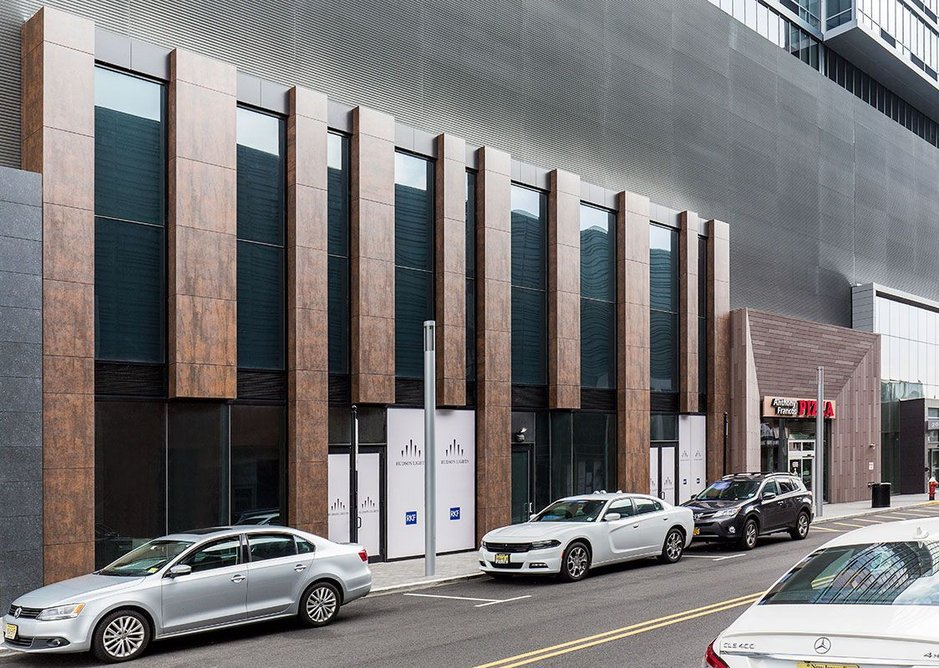 Neolith offers a low-maintenance solution for the Hudson Lights development.