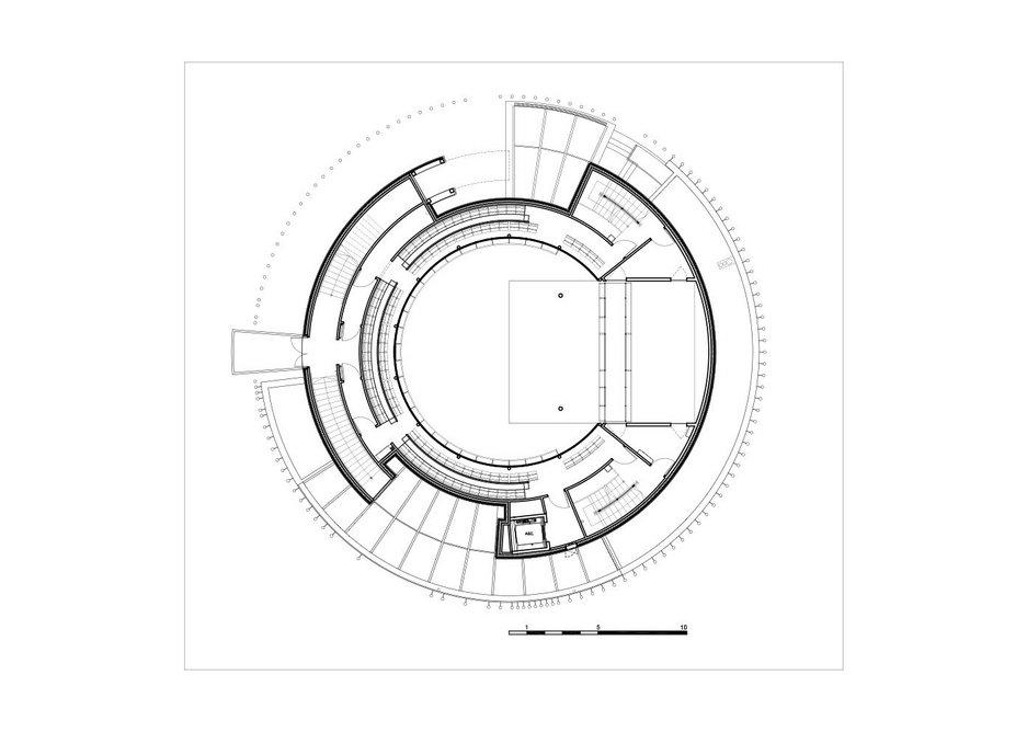 Hardelot 1st balcony plan