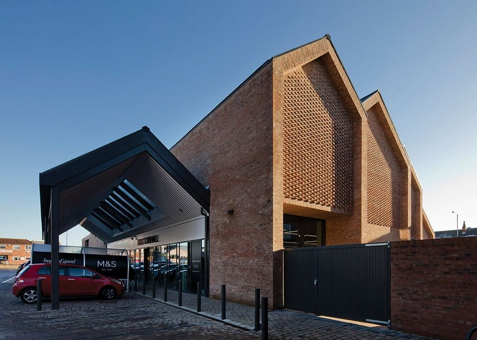 M and S Foodhall, Northallerton, by GT3 Architects.
