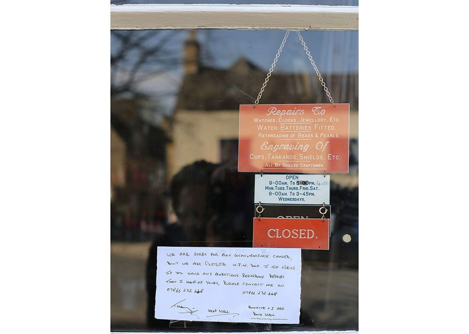 Call for collections at the repairs shop on Brecknock Road.