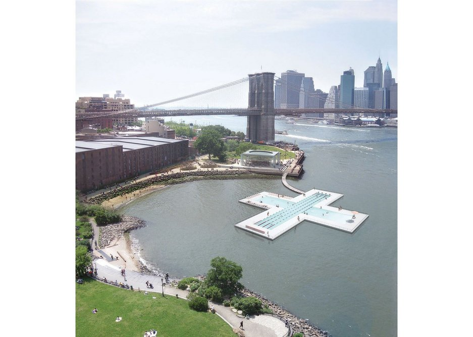 Family & Play Lab mark out New York's East River with PlusPool.