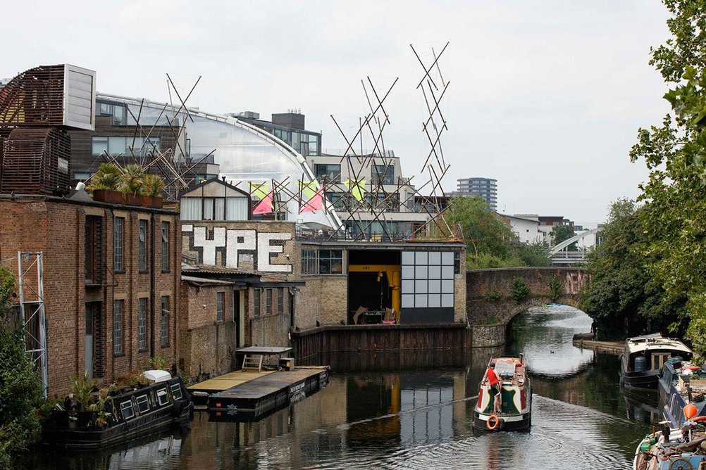 All Along the Watchtower, Project Bunny Rabbit's Tensegrity Antepavilion in Hackney.