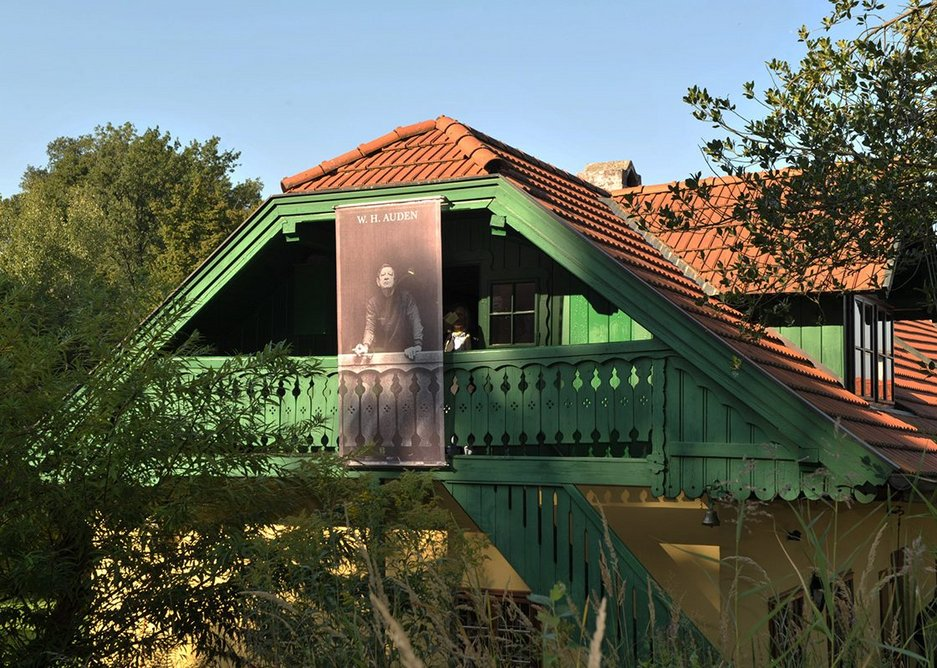WH Auden's house in Austria. The poet bought the house in 1958 and spent his last 15 summers there. The WH Auden Memorial, Kirchstetten, Lower Austria.