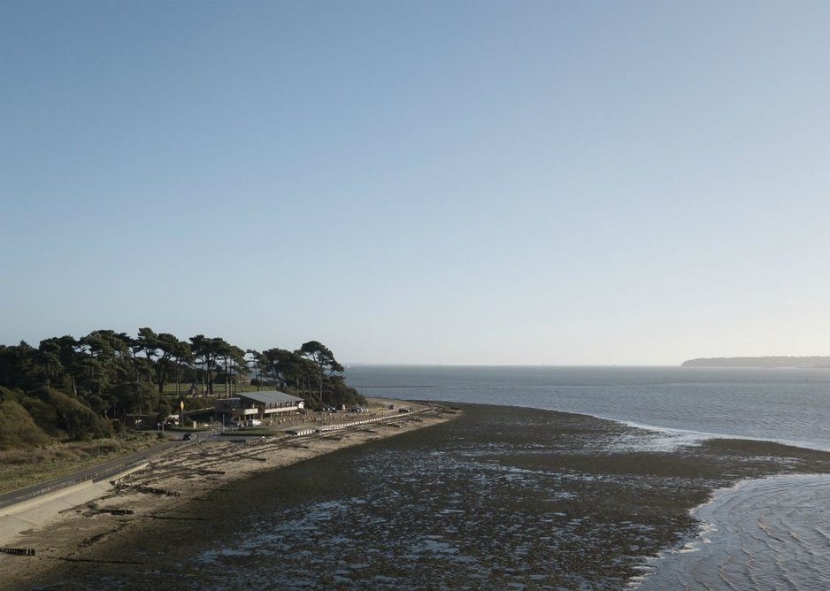 The Lookout at Lepe Country Park, Southampton.